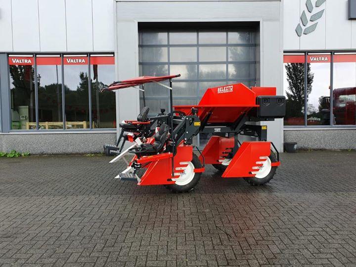 Een nieuwe Selecto selectiewagen